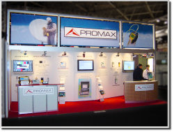 PROMAX stand at IBC 2006