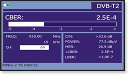 DVB-T2 measurements