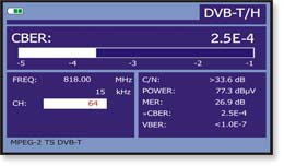 DVB-T/H measurements