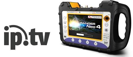 The RANGER Neo is an advanced IPTV tester