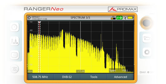 RANGER Neo Extended IF-Band Spectrum Analyzer