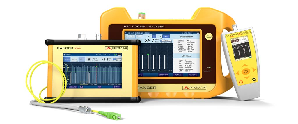 CABLE RANGER, the analyser for DOCSIS and optical fibre systems