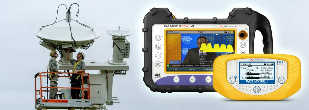 Signal analyzers to install Maritime Internet  How does the Internet