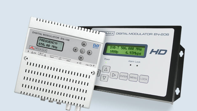 Image of Encoder modulators HDMI CVBS inputs