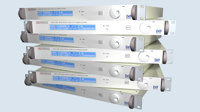 Image of Digital Modulators for Broadcast