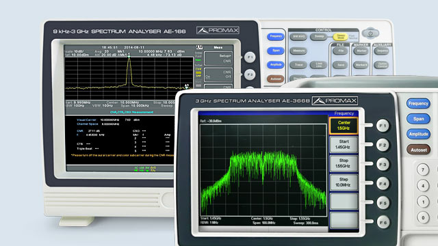 Image of RF spectrum analyzers