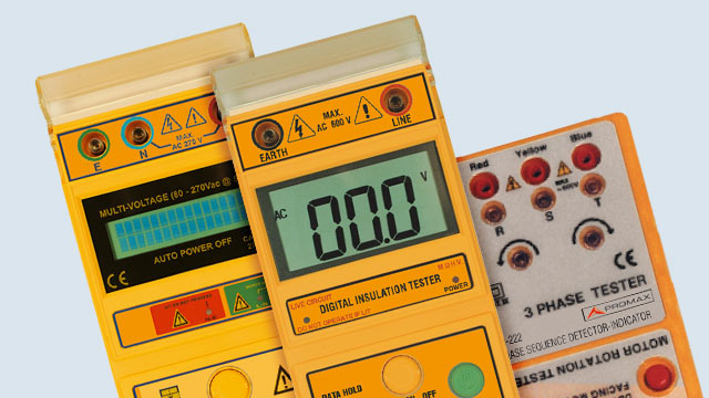 Image of Earth resistance meters
