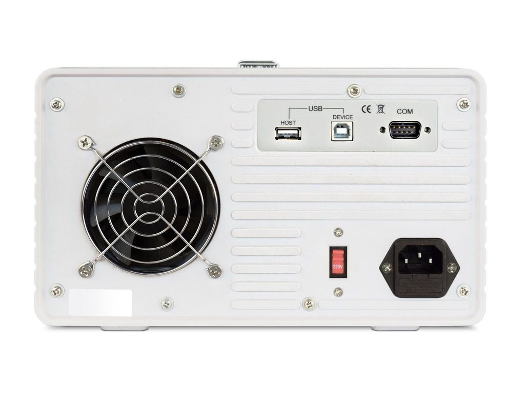 FA-853: Linear programmable DC power supply 2 x 30V, 3A + 5V, 3A