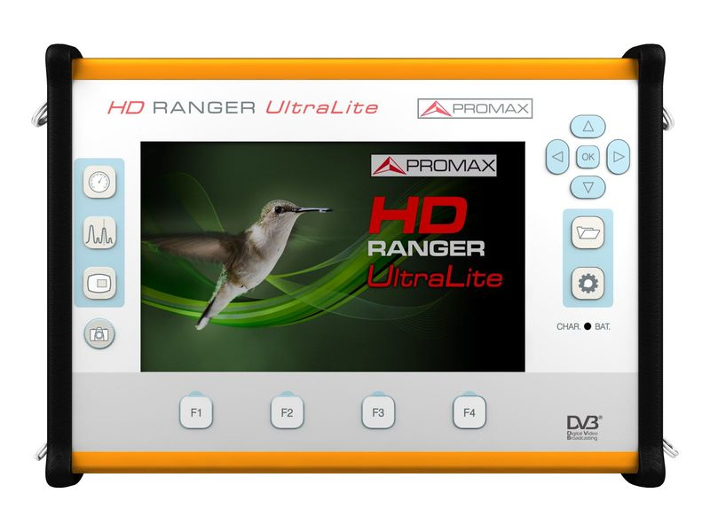 HD RANGER UltraLite : Tablet-sized field strength meter and
