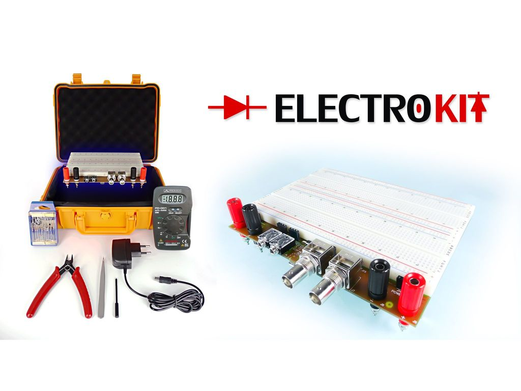 Electrokit Basic Electronic Trainer For Students And Amateurs Simple Circuit