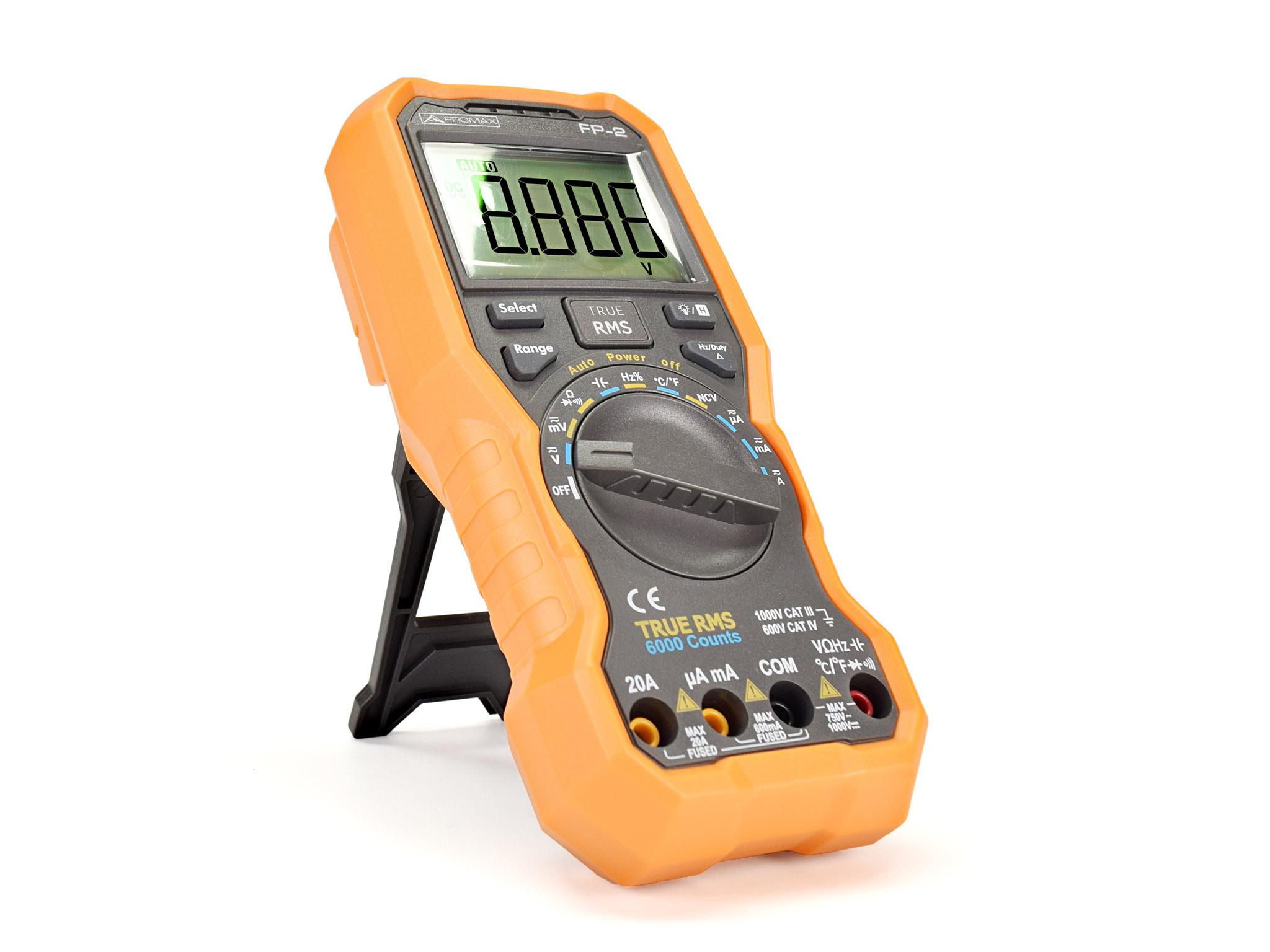 FP-2: True RMS digital multimeter | PROMAX Electronica