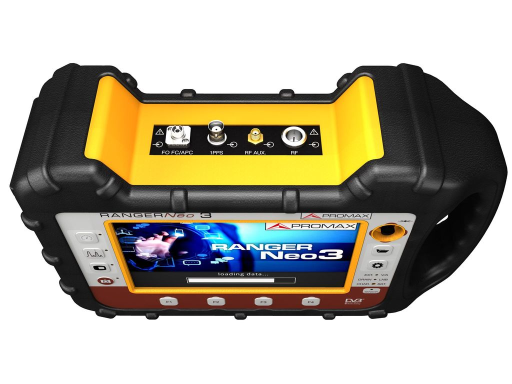 RANGERNeo 3: High class field strength meter and spectrum