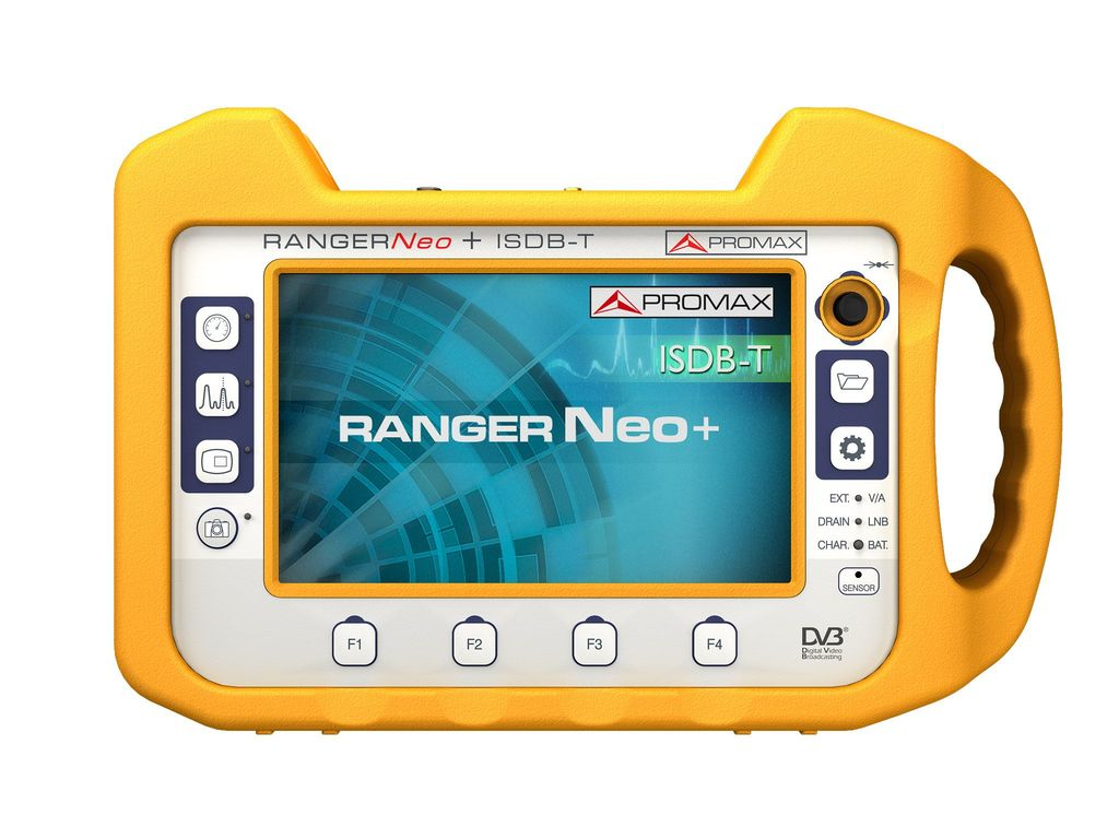 RANGERNeo + ISDB-T: Advanced multifunction field strength meter and