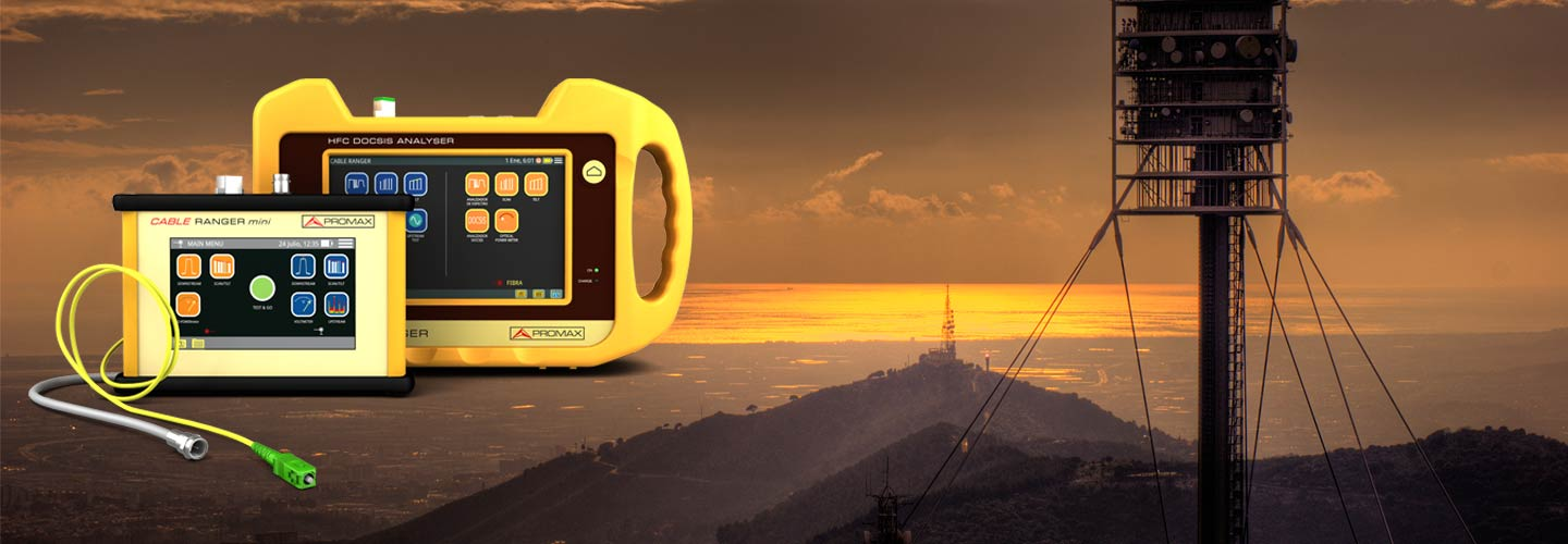 Specific field meters for CATV, QAM, DOCSIS and EuroDOCSIS 3.1. Its rugged construction ensures a long lifetime.